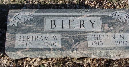 BIERY, BERTRAM & HELEN - Ida County, Iowa | BERTRAM & HELEN BIERY
