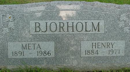 BJORHOLM, HENRY - Ida County, Iowa | HENRY BJORHOLM