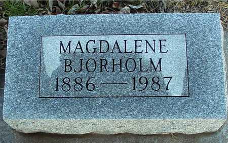 BJORHOLM, MAGDALENE - Ida County, Iowa | MAGDALENE BJORHOLM
