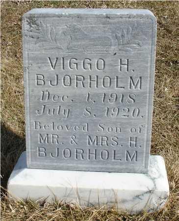 BJORHOLM, VIGGO H. - Ida County, Iowa | VIGGO H. BJORHOLM