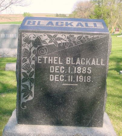 BLACKALL, ETHEL - Ida County, Iowa | ETHEL BLACKALL