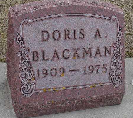 BLACKMAN, DORIS A. - Ida County, Iowa   DORIS A. BLACKMAN
