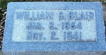 BLAIR, WILLIAM S. - Ida County, Iowa   WILLIAM S. BLAIR