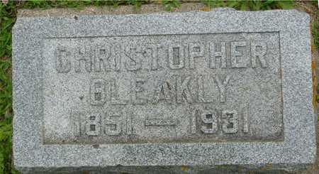 BLEAKLY, CHRISTOPHER - Ida County, Iowa   CHRISTOPHER BLEAKLY