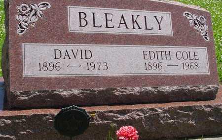 BLEAKLY, DAVID & EDITH - Ida County, Iowa | DAVID & EDITH BLEAKLY