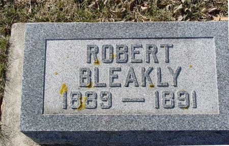 BLEAKLY, ROBERT - Ida County, Iowa | ROBERT BLEAKLY