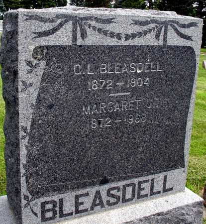 BLEASDELL, C. L. & MARGARET - Ida County, Iowa | C. L. & MARGARET BLEASDELL