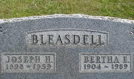 BLEASDELL, JOSEPH & BERTHA - Ida County, Iowa   JOSEPH & BERTHA BLEASDELL