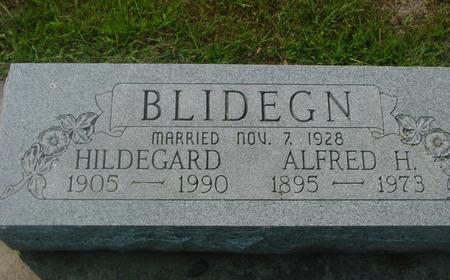 BLIDEGN, ALFRED & HILDEGARD - Ida County, Iowa | ALFRED & HILDEGARD BLIDEGN