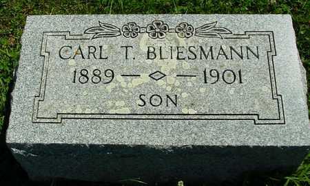 BLIESMANN, CARL T. - Ida County, Iowa   CARL T. BLIESMANN