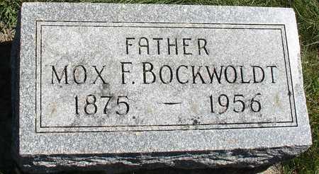 BOCKWOLDT, MOX F. - Ida County, Iowa | MOX F. BOCKWOLDT
