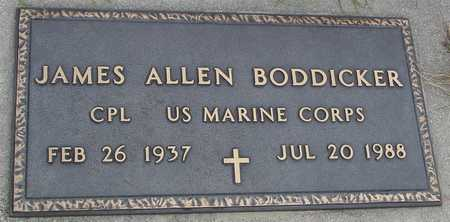 BODDICKER, JAMES ALLEN - Ida County, Iowa | JAMES ALLEN BODDICKER