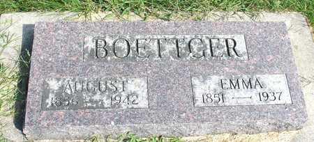 BOETTGER, AUGUST & EMMA - Ida County, Iowa   AUGUST & EMMA BOETTGER