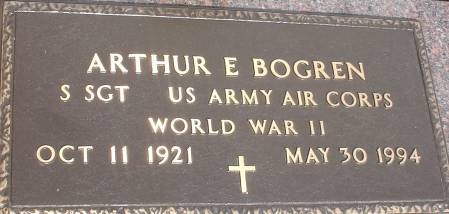 BOGREN, ARTHUR E. - Ida County, Iowa   ARTHUR E. BOGREN