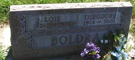 BOLDRA, THEODORE - Ida County, Iowa | THEODORE BOLDRA