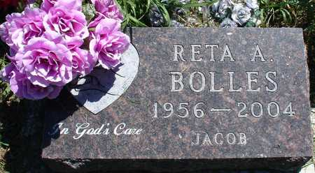 JACOB BOLLES, RETA A. - Ida County, Iowa | RETA A. JACOB BOLLES