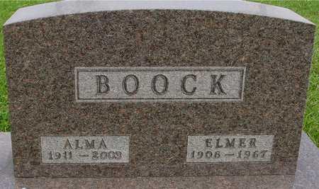 BOOCK, ELMER & ALMA - Ida County, Iowa | ELMER & ALMA BOOCK