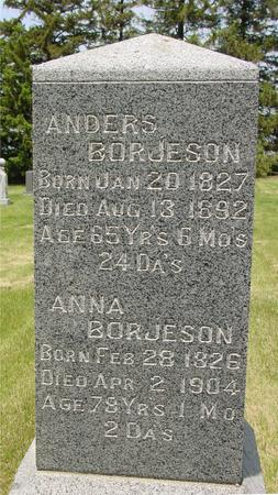 BORJESON, ANDERS - Ida County, Iowa | ANDERS BORJESON