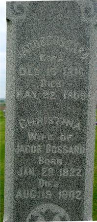 BOSSARD, JACOB - Ida County, Iowa | JACOB BOSSARD