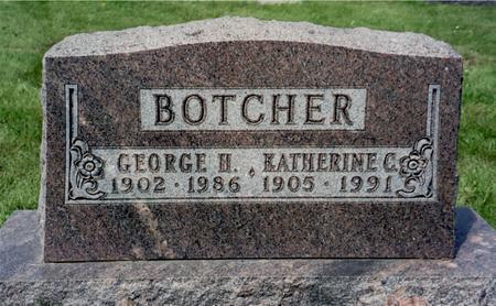 BOTCHER, GEORGE - Ida County, Iowa | GEORGE BOTCHER