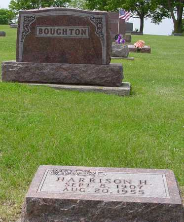 BOUGHTON, HARRISON H. - Ida County, Iowa | HARRISON H. BOUGHTON