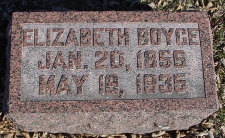 BOYCE, ELIZABETH - Ida County, Iowa | ELIZABETH BOYCE