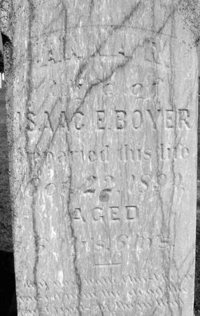 BOYER, ANNA - Ida County, Iowa   ANNA BOYER