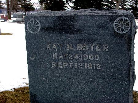 BOYER, RAY N. - Ida County, Iowa | RAY N. BOYER