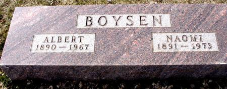BOYSEN, ALBERT & NAOMI - Ida County, Iowa | ALBERT & NAOMI BOYSEN