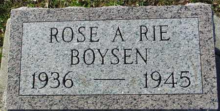 BOYSEN, ROSE A RIE - Ida County, Iowa   ROSE A RIE BOYSEN
