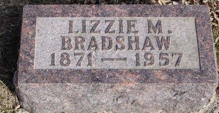 BRADSHAW, LIZZIE M. - Ida County, Iowa | LIZZIE M. BRADSHAW