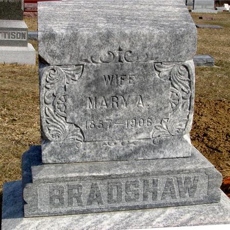 BRADSHAW, MARY A. - Ida County, Iowa | MARY A. BRADSHAW