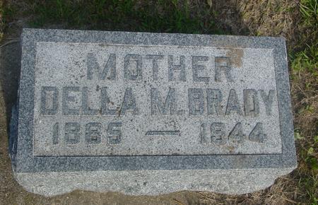 BRADY, DELLA M. - Ida County, Iowa | DELLA M. BRADY