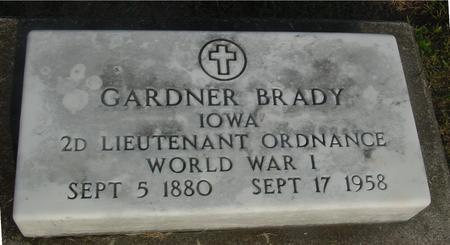 BRADY, GARDNER - Ida County, Iowa | GARDNER BRADY
