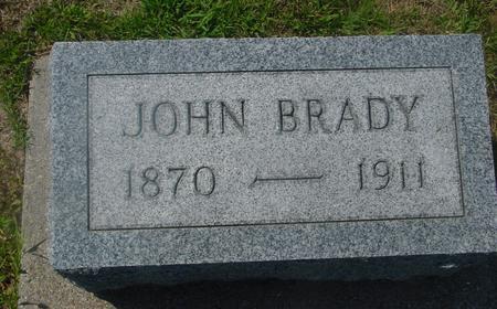BRADY, JOHN - Ida County, Iowa | JOHN BRADY