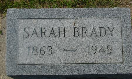BRADY, SARAH - Ida County, Iowa | SARAH BRADY