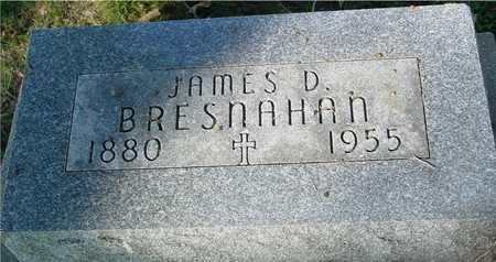 BRESNAHAN, JAMES D. - Ida County, Iowa   JAMES D. BRESNAHAN