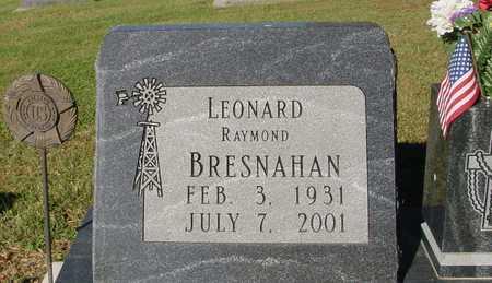 BRESNAHAN, LEONARD RAYMOND - Ida County, Iowa | LEONARD RAYMOND BRESNAHAN