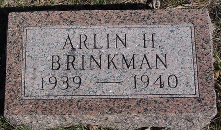 BRINKMAN, ARLIN H. - Ida County, Iowa | ARLIN H. BRINKMAN