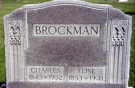 BROCKMAN, CHARLES - Ida County, Iowa | CHARLES BROCKMAN