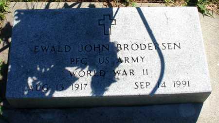 BRODERSEN, EWALD JOHN - Ida County, Iowa   EWALD JOHN BRODERSEN