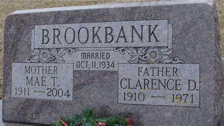 BROOKBANK, CLARENCE & MAE - Ida County, Iowa | CLARENCE & MAE BROOKBANK