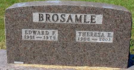BROSAMLE, EDWARD & THERESA - Ida County, Iowa | EDWARD & THERESA BROSAMLE