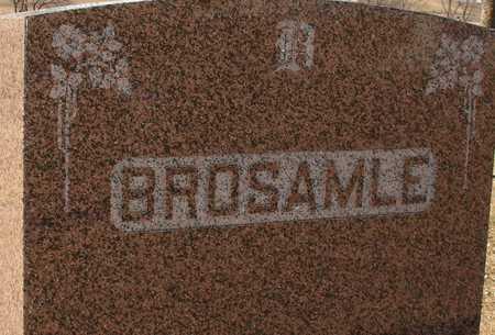 BROSAMLE, FAMILY MARKER - Ida County, Iowa | FAMILY MARKER BROSAMLE