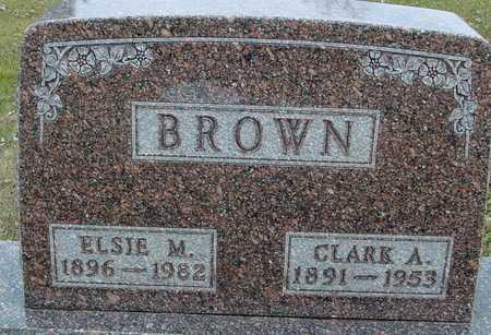 BROWN, CLARK & ELSIE - Ida County, Iowa | CLARK & ELSIE BROWN