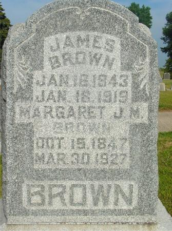 BROWN, JAMES & MARGARET - Ida County, Iowa | JAMES & MARGARET BROWN