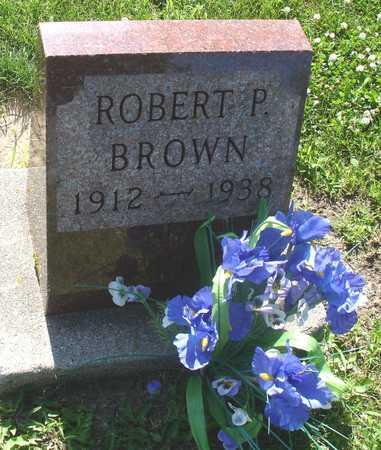 BROWN, ROBERT P. - Ida County, Iowa | ROBERT P. BROWN