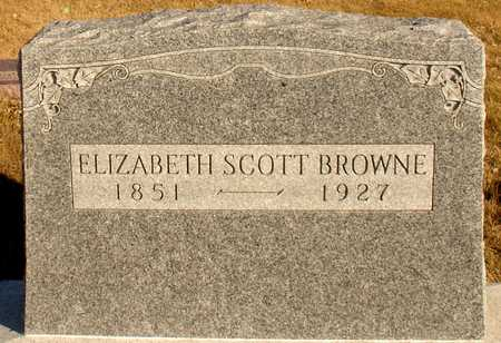 SCOTT BROWNE, ELIZABETH - Ida County, Iowa | ELIZABETH SCOTT BROWNE