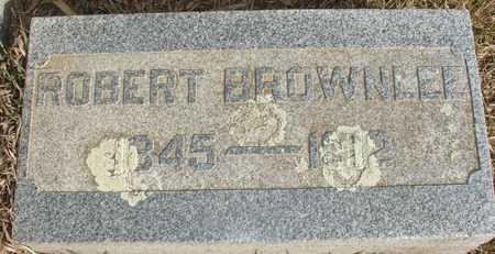 BROWNLEE, ROBERT - Ida County, Iowa   ROBERT BROWNLEE