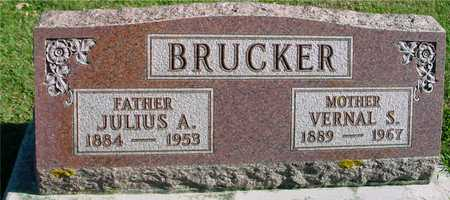 BRUCKER, JULIUS & VERNAL - Ida County, Iowa   JULIUS & VERNAL BRUCKER